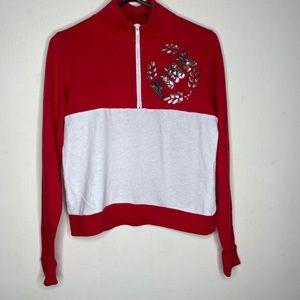 Pink pullover sweatshirt Sz S